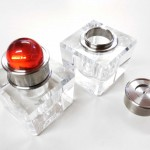 Hersteller Glas Tintenfass