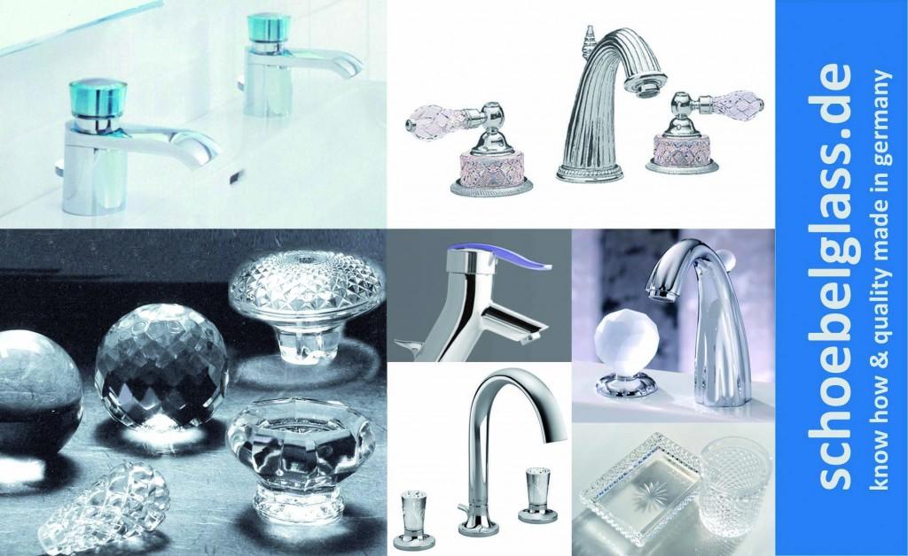 Hersteller Glasbauteile Armaturen Schöbel Kristallglas