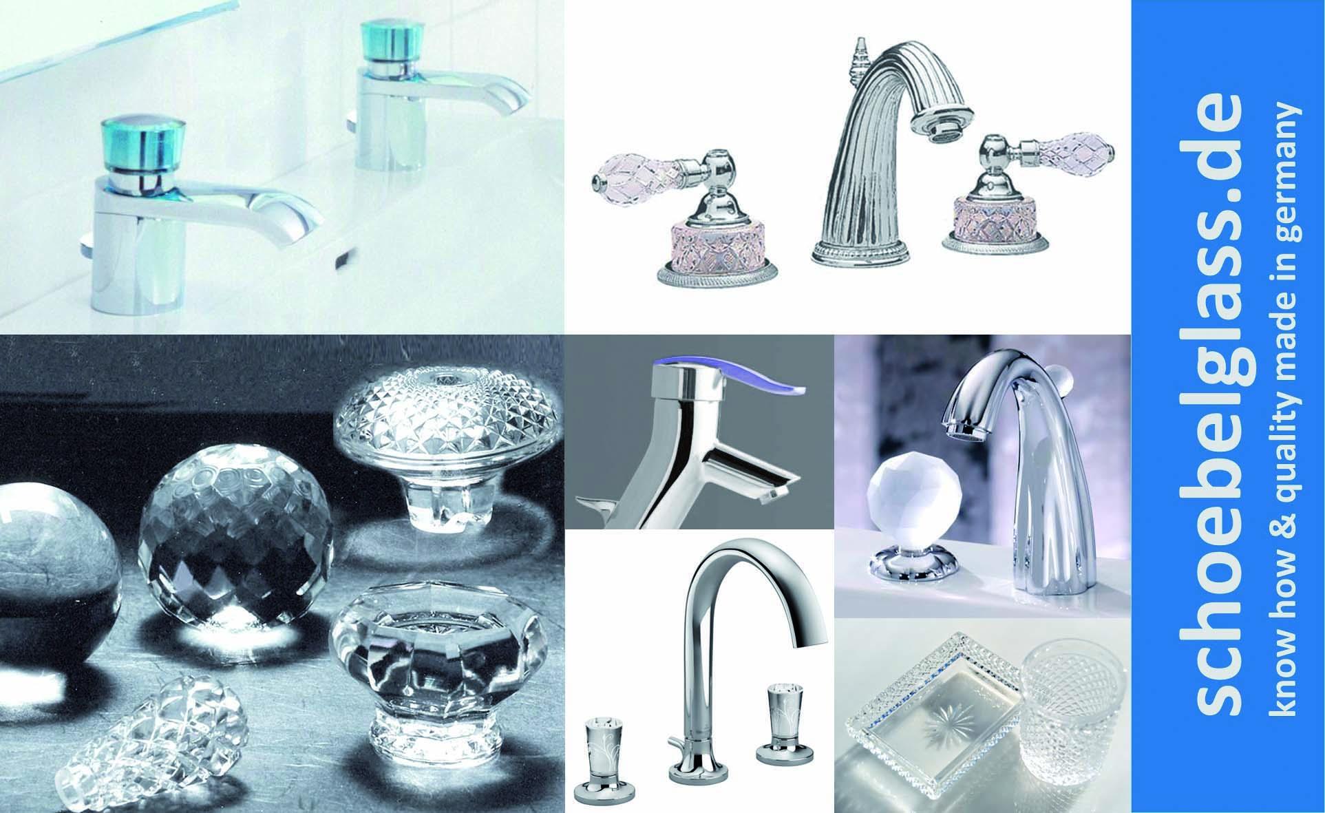 Armaturen mit Glas – Armaturenhersteller setzen Akzente – SCH–BEL